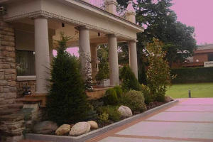 Entrada a Jardín